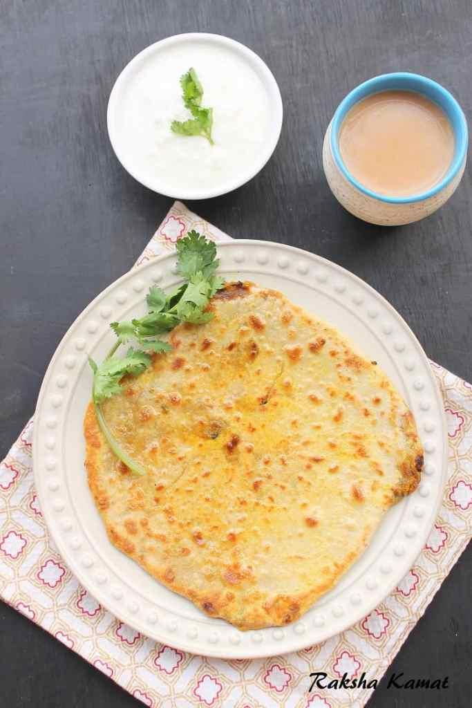 Stuffed Radish Paratha (Mooli Paratha)