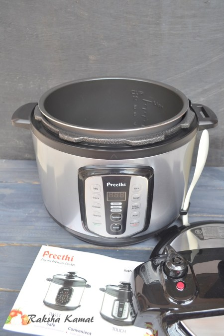Preethi Electric Pressure Cooker Touch