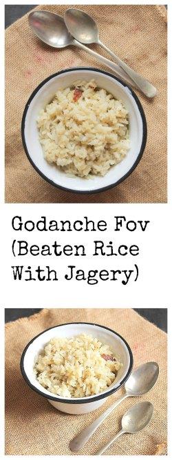 Beaten Rice With Jaggery
