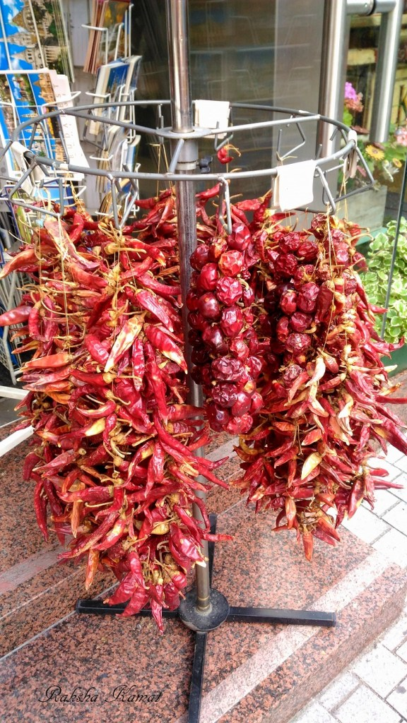 Hungarian Red Chillies