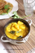 Patal potato bhaji, potato bhaji
