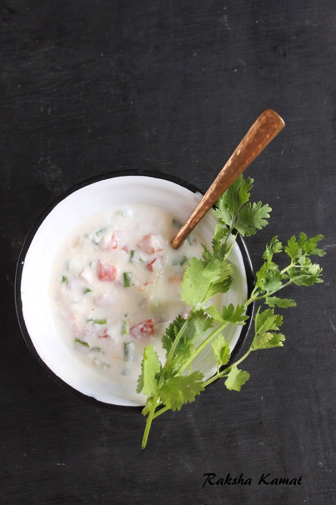 Mixed Vegetable Raita