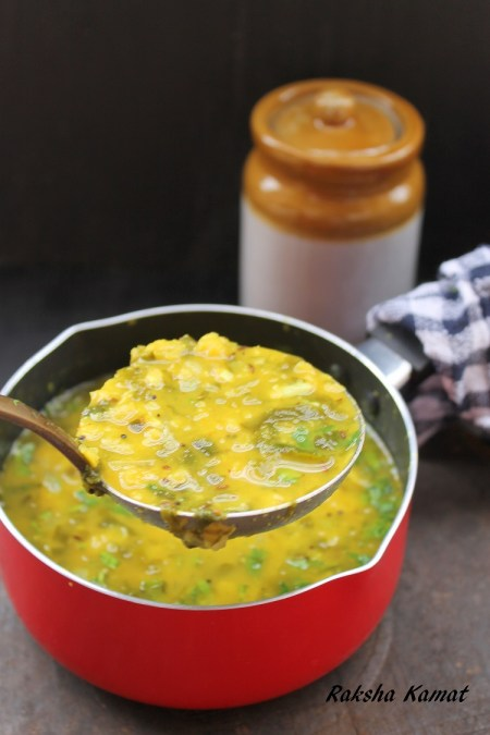 Dal Palak, Spinach dal, dal palak dry, dal made with spinach,dal curry