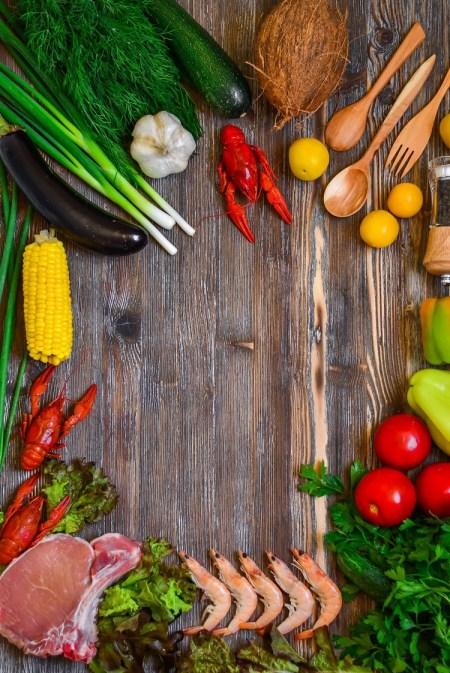 Food processor presentation
