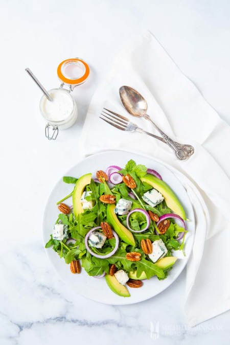 Rocket Salad Avocado