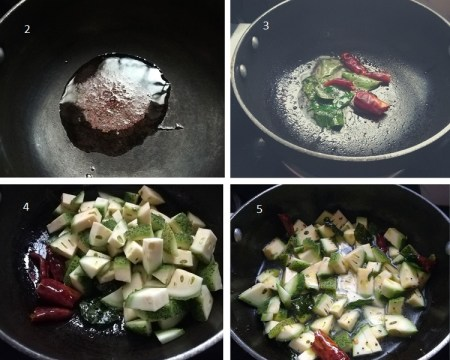 Teasel gourd recipe step by step
