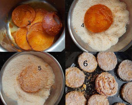 Steps to make tava fried onion with rava