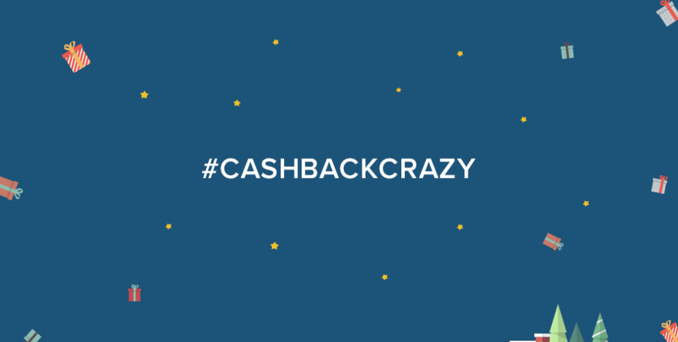 We love giveaways! Be sure to enter our #CashBackCrazy contest for your chance to win BIG!