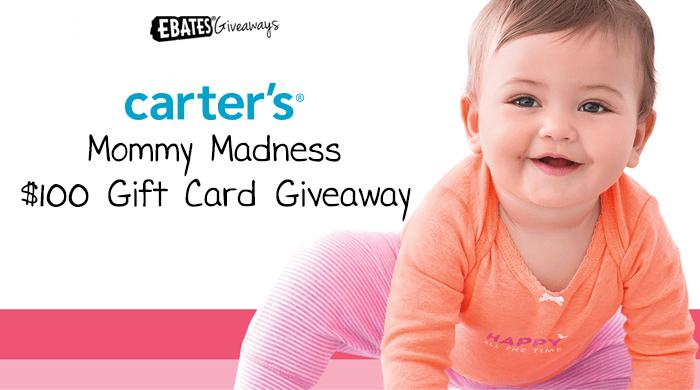 Win $100 Carter's Gift Card!