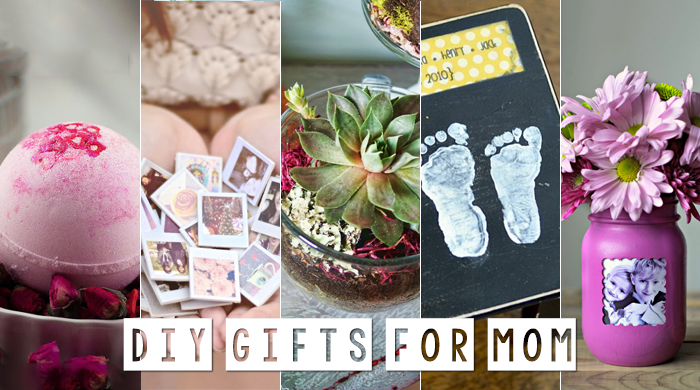 5 DIY Mother's Day Gifts She'll Love