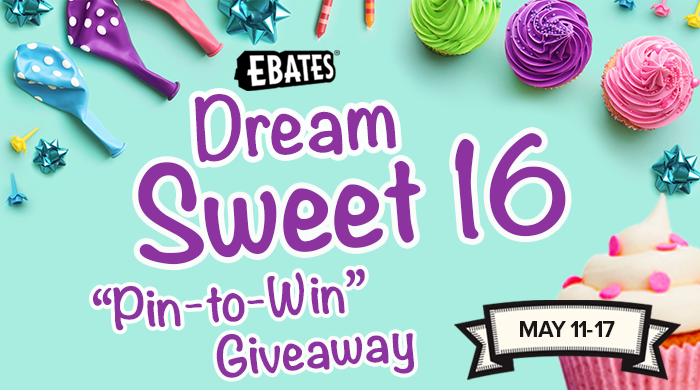 """Sweet 16 Dreams – """"Pin to Win"""" Contest"""