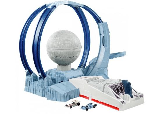 Star Wars Carships Death Star Revolution Race Track Set
