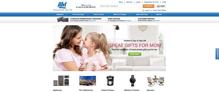 abt.com homepage
