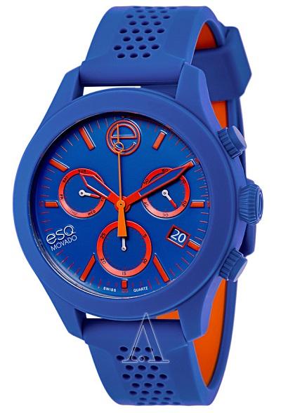 Blue ESQ watch