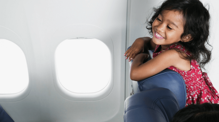 How to Stay Sane While Flying With Kids