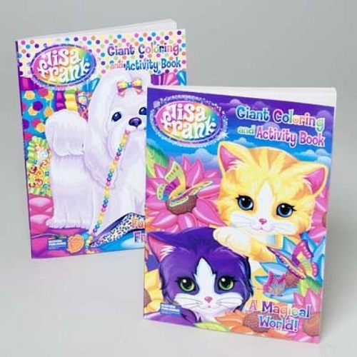 Lisa Frank coloring and activity books