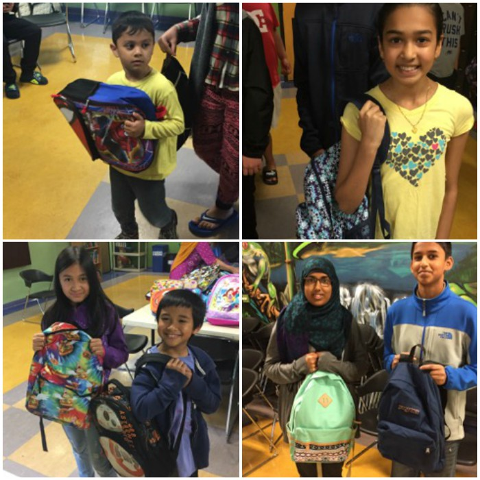 Cityteam back to school backpack drive