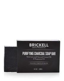Brickell Purifying Charcoal Soap Bar