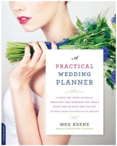The practical wedding planner book
