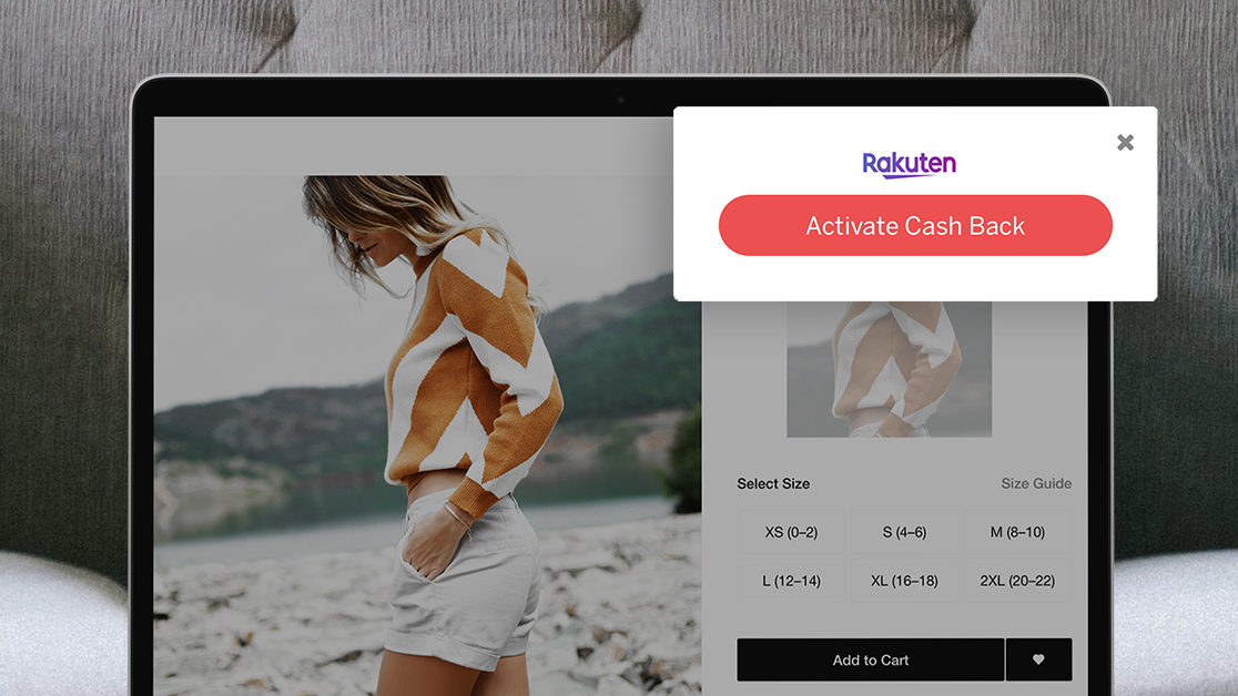 Download the Rakuten Cash Back Button Today