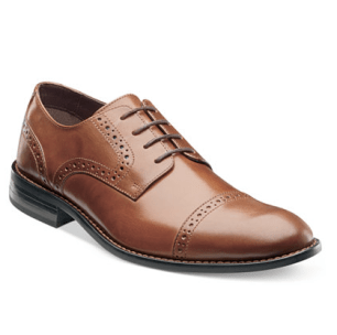 leather oxford men's shoes