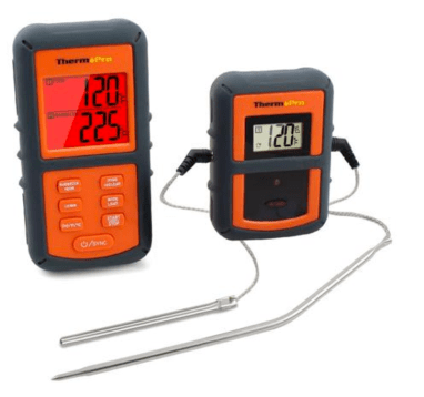 ThermoPro TP-08 Remote Wireless Food Kitchen Thermometer - Dual Probe