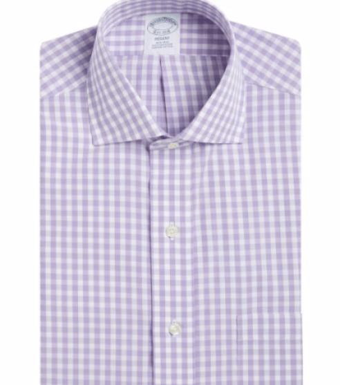 Brooks Brothers Gingham Dress Shirt