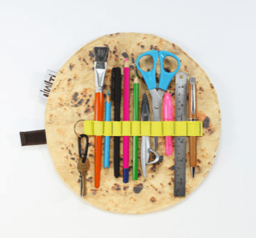Flat Bread Pencil Case
