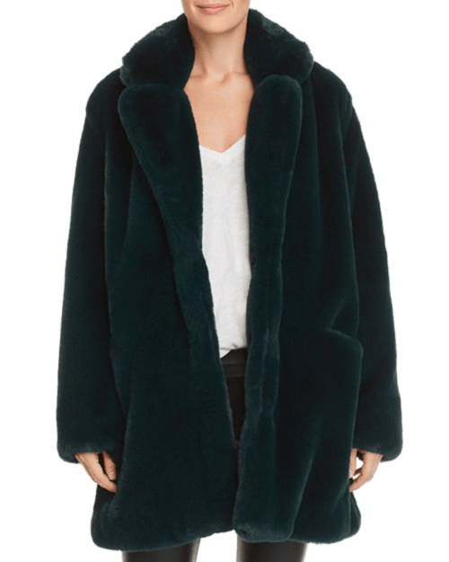 Apparis Sophie Faux-Fur Coat