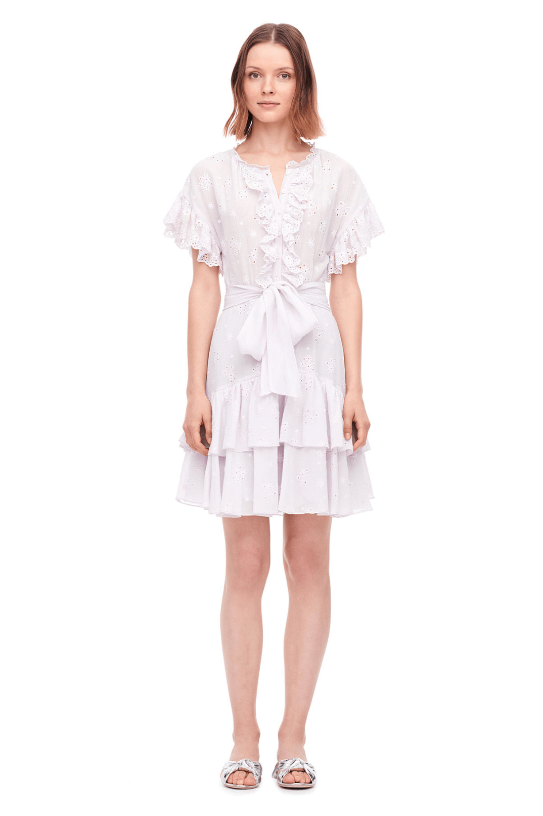 Rebecca Taylor Dree Embroidered Dress