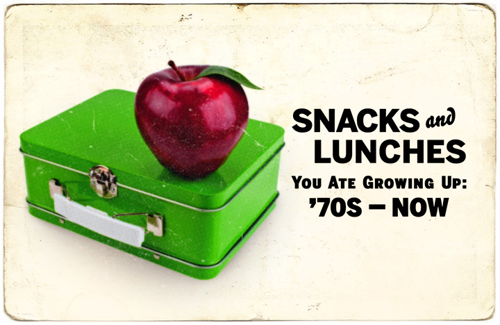 School Lunches and Snacks You Ate Growing Up: 70s–Now
