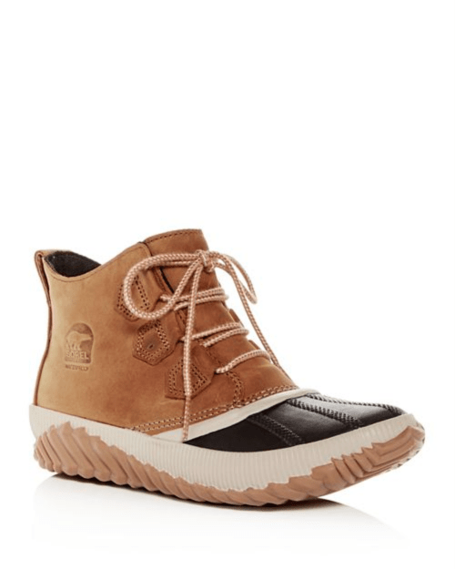 Sorel Out N About Waterproof Nubuck Leather Boots
