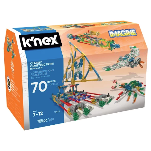K'NEX Imagine Classic Constructions Building Set - 70 Model