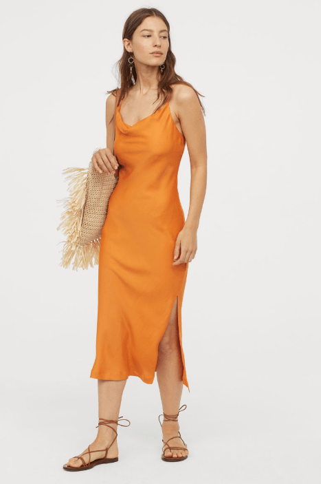 H&M Satin Dress