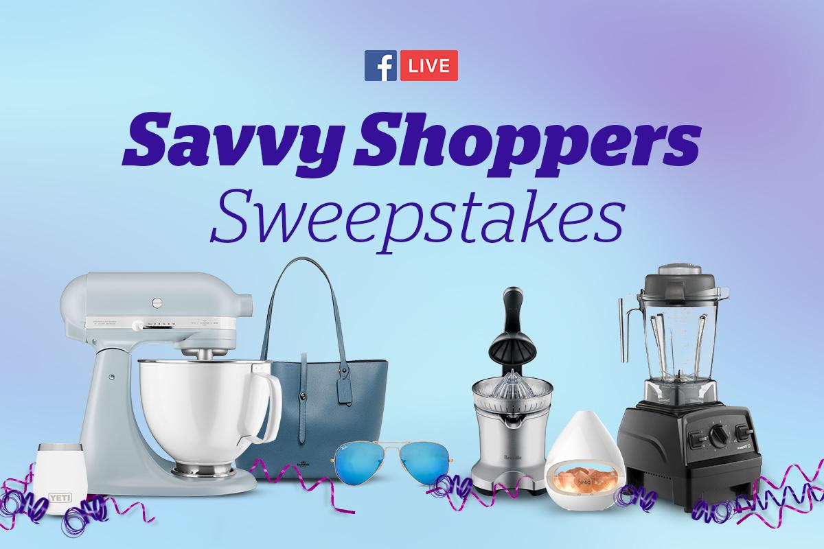Savvy Shoppers Sweepstakes | Rakuten Blog