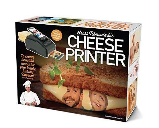 Prank pack cheese printer
