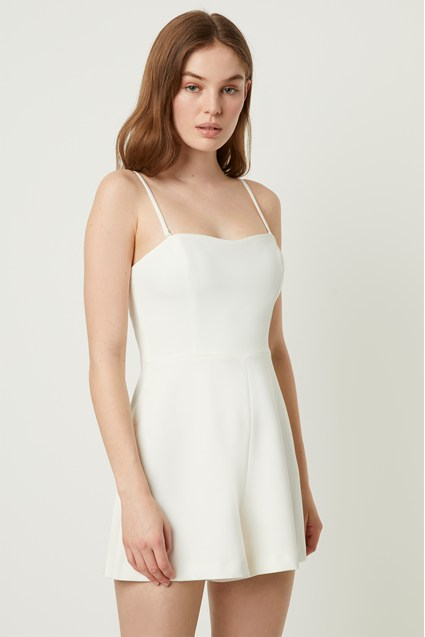 French Connection Summer Sweetheart Romper