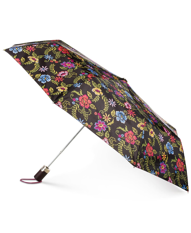 Totes Signature Auto-Open Compact Umbrella with NeverWet®