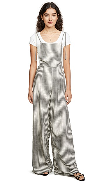 Jack By BB Dakota Tie On The Prize Jumpsuit