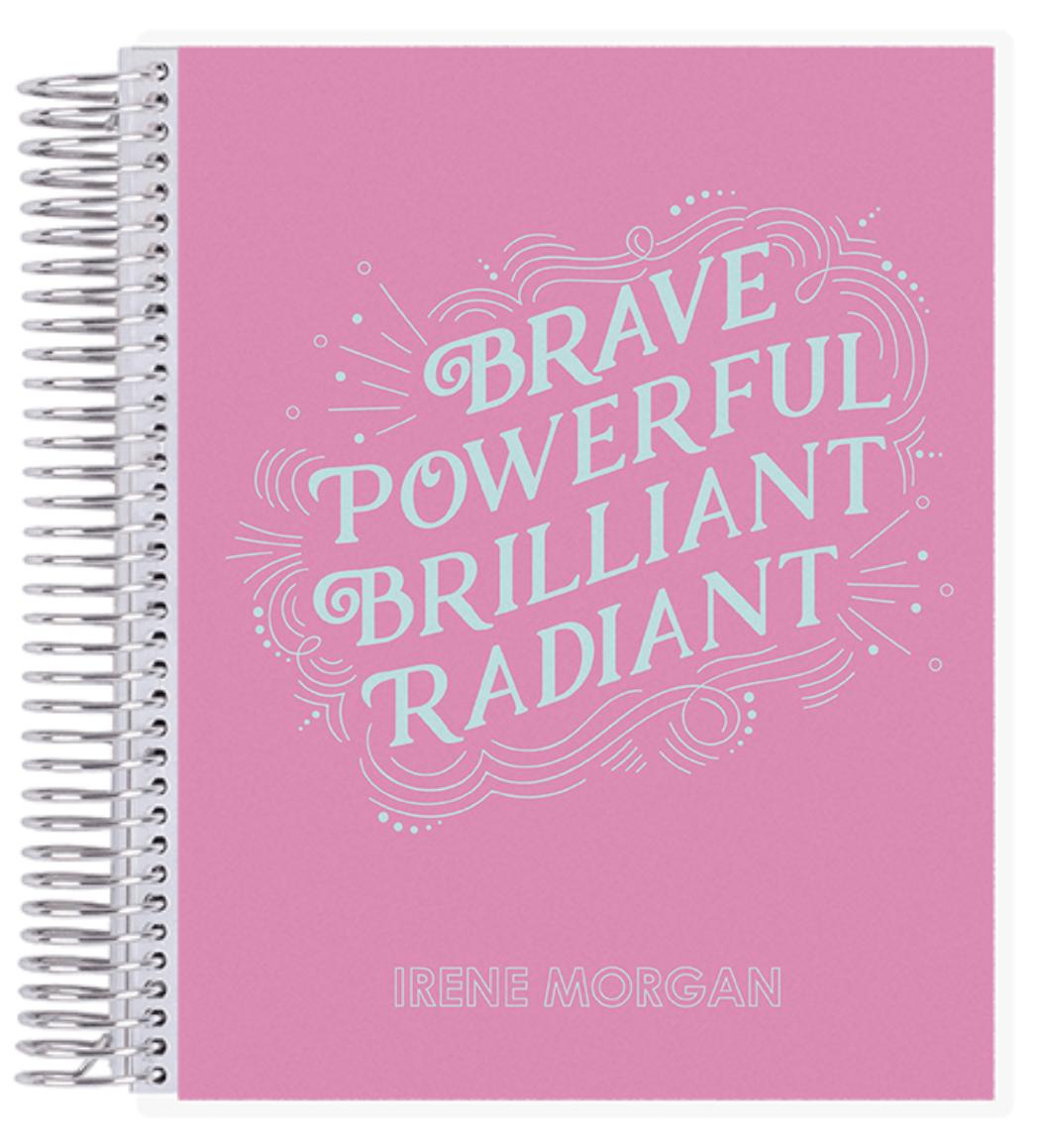 Erin Condren Radiant Notebook