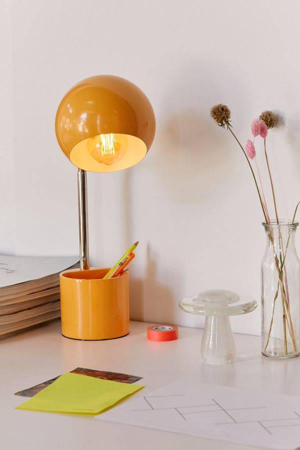 Gumball Storage Desk Lamp
