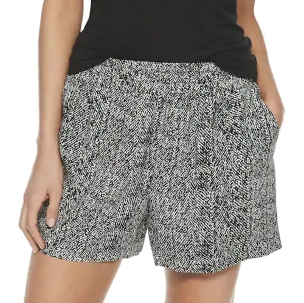 Kohl's Women's Apt. 9® Challis Soft Shorts