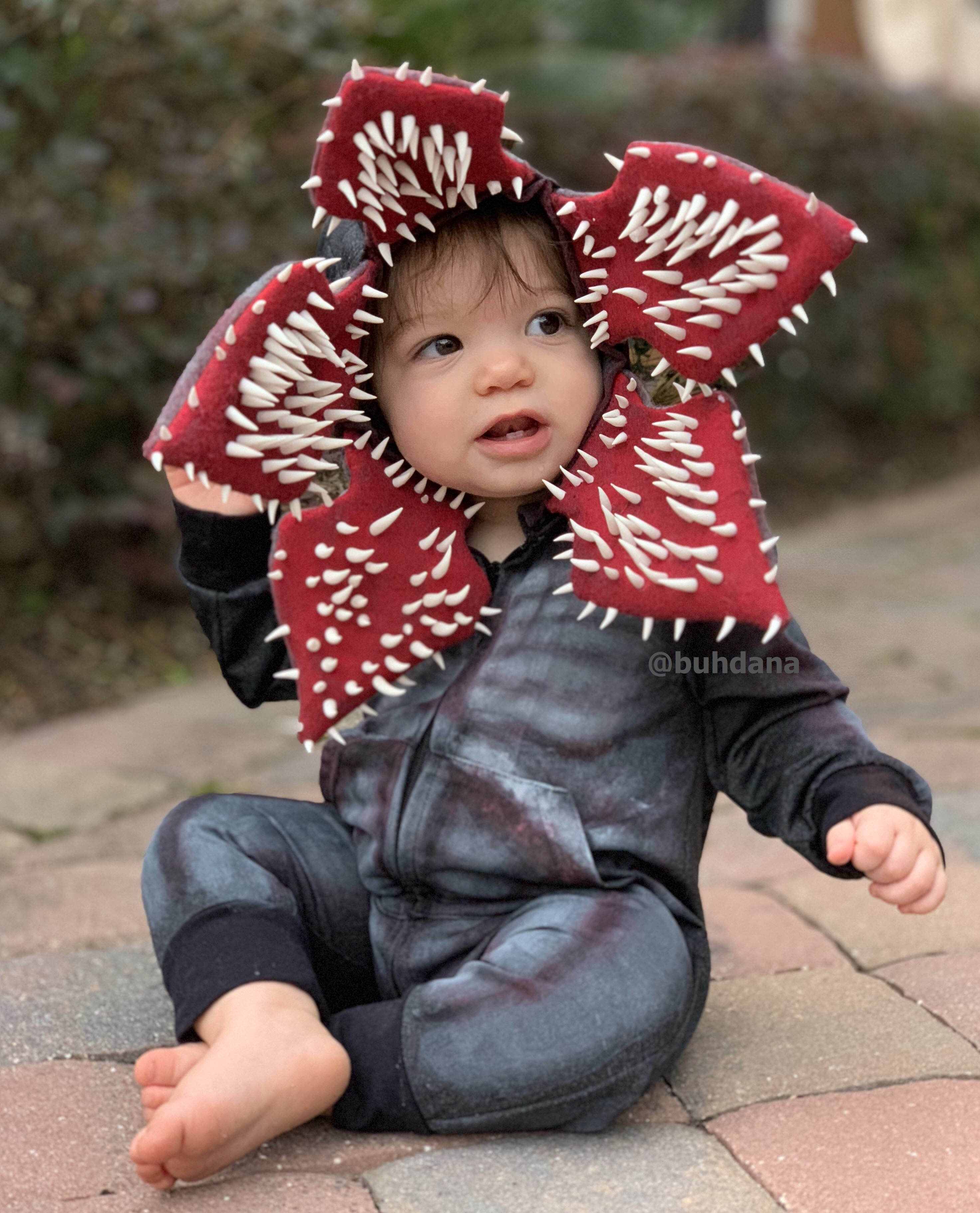 Baby Demogorgon costume buhdana