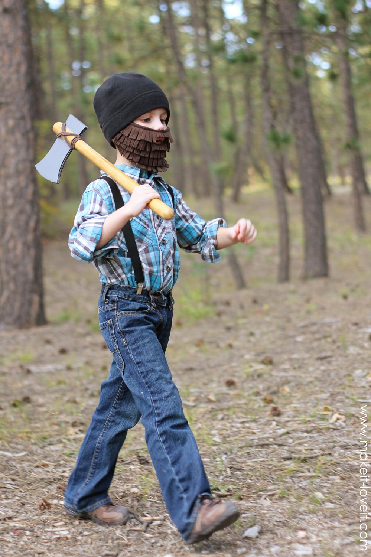 Make It & Love It Lumberjack costume