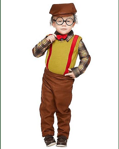 Baby lil' Grandpa Costume