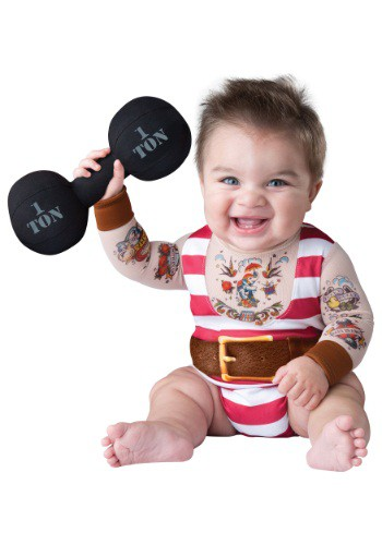 Infant and Baby Tiny Strongman Halloween Costume