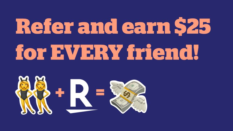 Rack Up Unlimited $25 Bonuses With Rakuten's Refer-A-Friend Program