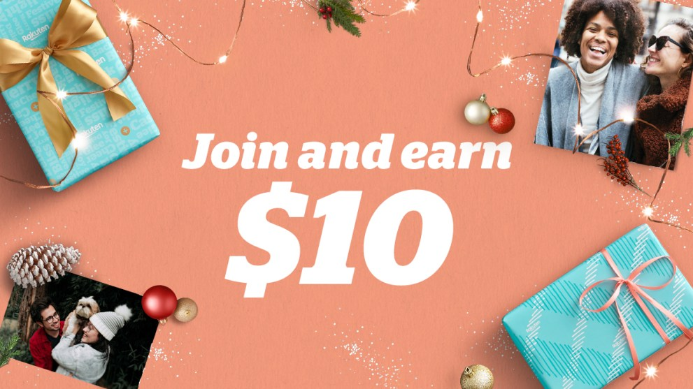 Rack It Up With Rakuten & Get $10 When You Spend $25