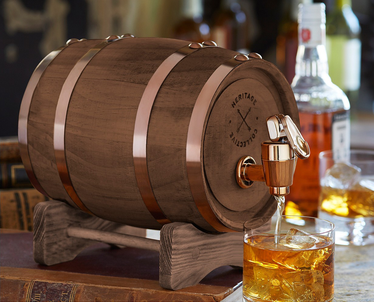Studio Mercantile Whiskey Barrel 5L