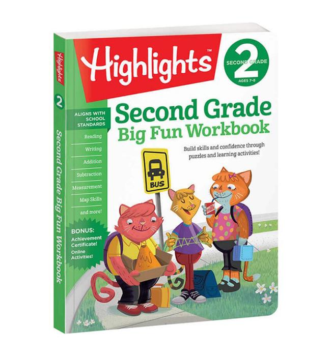Highlights Second Grade Big Fun Workbook